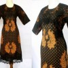 DRESS BATIK SOGAN TULIS MIX LACE