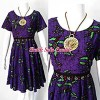 DRESS KARIN MODEL BAJU BATIK MOTIF BAKARAN