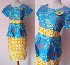DRESS BATIK SOLO PEPLUM CHATTY 02