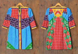 BAJU KERJA MODEL DRESS BATIK SOLO TULIS  DIAJENG A08