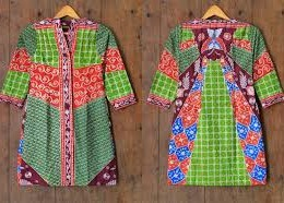 DRESS BATIK SOLO TULIS DIAJENG A04