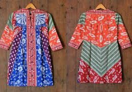 DRESS BATIK SOLO TULIS DIAJENG 05