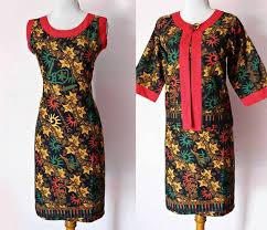 DRESS BATIK SOLO SOGAN GENES 04