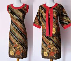 DRESS BATIK SOLO SOGAN GENES 03