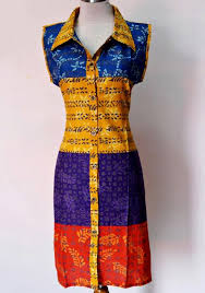 DRESS BATIK SOLO MOLLY 09