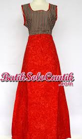 SACKDRESS BATIK SOLO MAXI STEVI