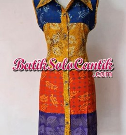 DRESS BATIK SOLO MOLLY