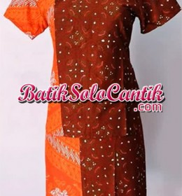 DRESS BATIK SOLO MODERN NONA