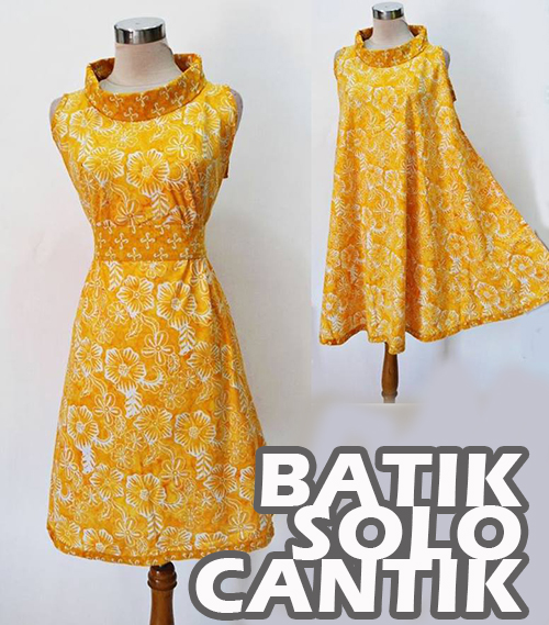 Dress Batik modern Rara Pias
