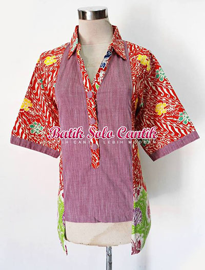 Blouse Batik Keris 34