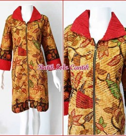 BATIK SOGAN MODEL CACAH IRIS