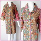 DRESS BATIK SOLO MODEL CACAH IRIS TERBARU