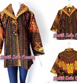 BAJU BATIK MODEL BLOUSE CACAH