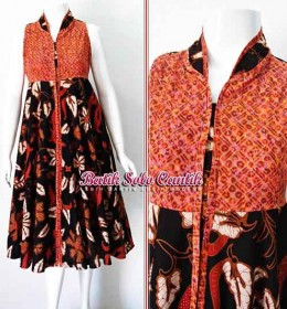 BATIK SOLO MODEL CIRCLE DRESS SIGI