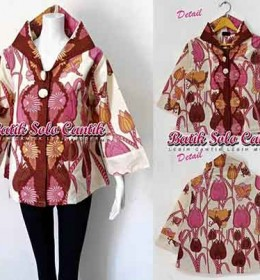 DRESS BATIK MODEL COAT MIRANDA