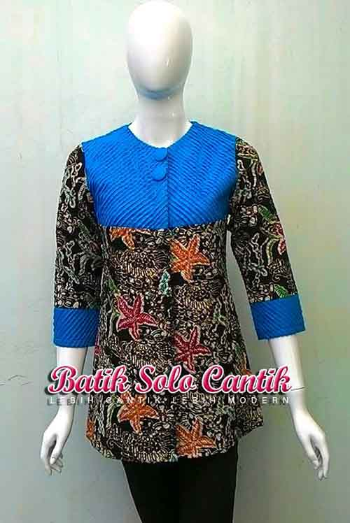 MODEL BATIK TULIS FULL SESET