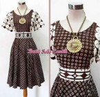 DRESS BATIK SOGAN TRUNTUM