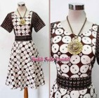 DRESS BATIK TULIS SOGAN WENDA