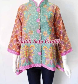 BATIK SOLO MODEL BATIK KERIS