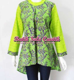 BATIK SOLO MODEL TUNIK 2016