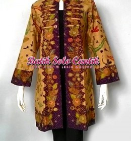 BATIK TULIS LASEM MODEL LONG CARDI