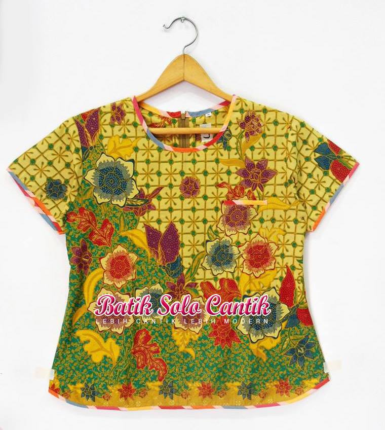 BATIK SOLO MODEL BLOUSE